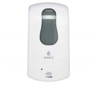 Сенсорный диспенсер BINELE iFoam картриджный для мыла-пены,  артикул: DE21BW, DE21BB