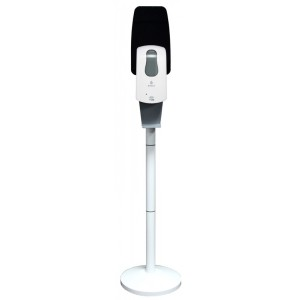Комплект мобильной стойки с сенсорным наливным диспенсером BINELE (белая), арт. SF08AW