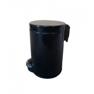 Корзина для мусора с педалью Lux, 12 литров, арт. WP12LB, WP12LM, WP12LW