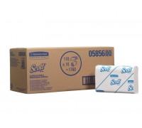 Бумажные полотенца Scott SlimFold, 110 листов, арт. 5856