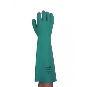 Перчатки JACKSON SAFETY G80 нитриловые для защиты от химикатов удлиненная манжета 45 см