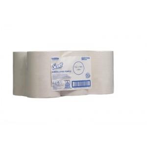 Полотенца в рулонах SCOTT® Slimroll, 165 метров, белые, арт.6657