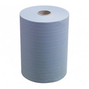 Полотенца для рук в рулонах Slimroll, 165 метров, синие, арт. 6658