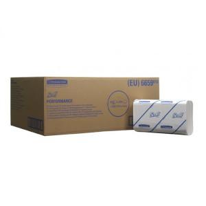 Бумажные полотенца SCOTT PERFORMANCE растворимые в воде, 300 листов, арт. 6659