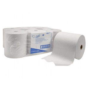 Бумажные полотенца в рулонах SCOTT®, 304 метра, арт. 6667