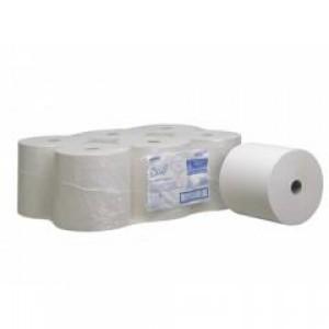 Бумажные полотенца в рулонах SCOTT®, 354 метра, белые, арт. 6687