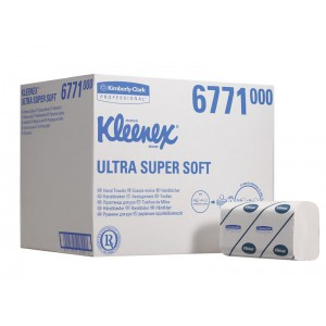 Бумажные полотенца KLEENEX® Ultra супермягкие, 96 листов, арт.6771