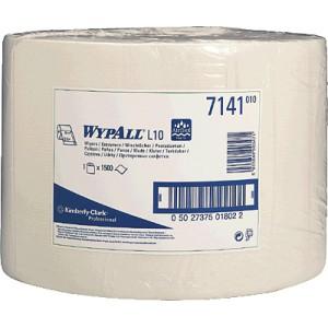 Протирочные салфетки WYPALL® L10 Extra в большом рулоне, 1-слойные, арт. 7141