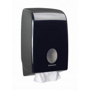 Черный диспенсер для бумажных полотенец в пачках, арт.7171