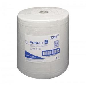 Протирочные салфетки WYPALL® L20 Extra в большом рулоне, 2-слойные, арт. 7249