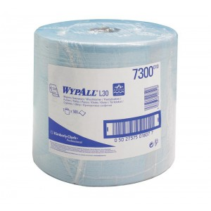 Протирочные салфетки WYPALL® L20 Extra + в большом рулоне, 2-слойные, арт. 7300