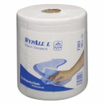 Протирочные салфетки WYPALL® L20 Extra в рулоне с центральной подачей, 2-слойные, белые, арт.7303