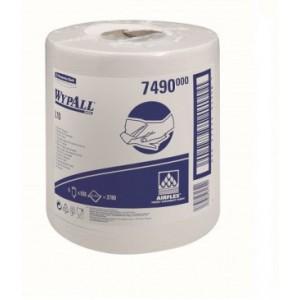 Протирочные салфетки WYPALL® L10 Extra в рулоне с центральной контролируемой подачей, 1-слойные, арт. 7490