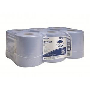 Протирочные салфетки WYPALL® L10 Extra+ с центральной контролируемой подачей, 1-слойные, синие, арт. 7492