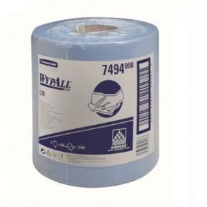 Протирочные салфетки WYPALL® L10 Extra в рулоне с центральной контролируемой подачей, 1-слойные, арт. 7494