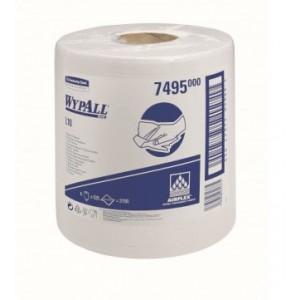 Протирочные салфетки WYPALL® L10 Extra в рулоне с центральной контролируемой подачей, 1-слойные, арт. 7495
