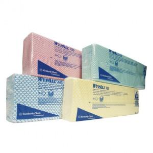 Протирочные салфетки WYPALL* Х80 (в пачках), 7565, 7566, 7567, 7568,  Кимберли Кларк, Kimberly-Clark