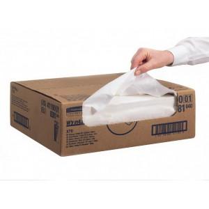 Протирочные салфетки WYPALL® Х70 в упаковке Brag Box®, арт. 8381 для быстрой протирки пролитых жидкостей, масел и растворителей