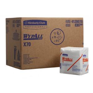 Протирочные салфетки WYPALL®  Х70 в пачке, арт. 8387- для удаления масляных загрязнений