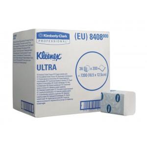 Туалетная бумага  KLEENEX Ultra (с логотипом), 200 листов, арт.8408