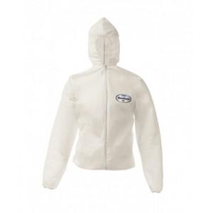 Дышащая куртка с капюшоном KLEENGUARD A50 для защиты от брызг и частиц химического происхождения
