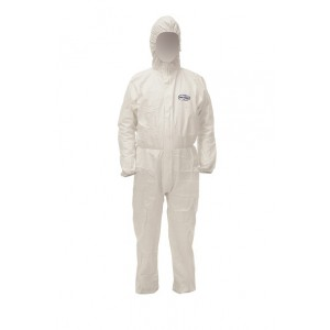 Одноразовый защитный комбинезон KLEENGUARD A45 с капюшоном для защиты от жидкостей и частиц химического происхождения