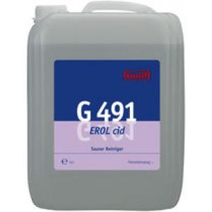 G 491  Erol cid - концентрированное чистящее средство для основательной чистки поверхно