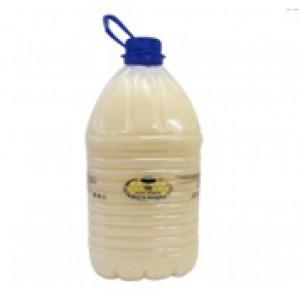 """Мыло """"Мед и Молоко"""" жемчужное. Цвет белый. Не содержит красителей и ароматизаторов.  Канистра 5 литров."""
