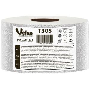 Туалетная бумага в средних рулонах Veiro Professional Premium -170 метров