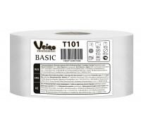 Туалетная бумага в больших рулонах Veiro Professional Basic, 450 метров, арт. T101