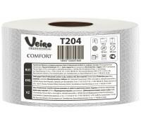 Туалетная бумага в средних рулонах Veiro Professional Comfort - 170 метров, арт.T204
