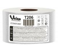 Туалетная бумага в средних рулонах Veiro Professional Comfort - 125 метров, арт.T206