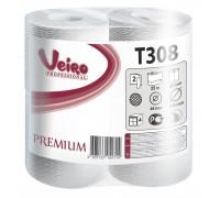 Туалетная бумага в малых рулонах Veiro Professional Premium - 2 слоя, 25 метров