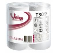 Туалетная бумага в малых рулонах Veiro Professional Premium - 3 слоя, 20 метров, арт.T309
