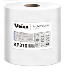Полотенца бумажные с центральной вытяжкой Veiro Professional Comfort, 200 метров, KP210