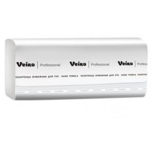 Полотенца бумажные V-сложение Veiro Professional Comfort, 250 листов, арт. KV210