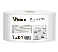 Туалетная бумага рулонах Veiro Professional Comfort - 180 метров, арт. T201