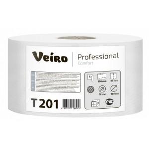 Туалетная бумага рулонах Veiro Professional Comfort - 180 метров, T201