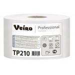 Туалетная бумага в рулонах с центральной вытяжкой Veiro Professional Comfort - 215 метров, арт.TP210
