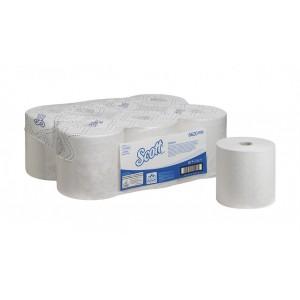 Бумажные полотенца в рулонах Scott Control 250 метров белые, арт.6620
