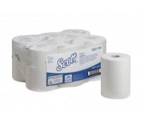 Бумажные полотенца в рулонах Scott Control Slimroll белые 150 м, арт.6621