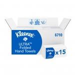 Бумажные полотенца в пачках Kleenex Ultra Super Soft, 96 листов, арт.6710
