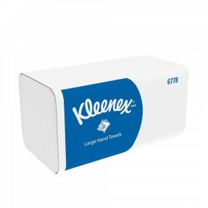Бумажные полотенца листовые Kleenex 124 листа, арт.6778