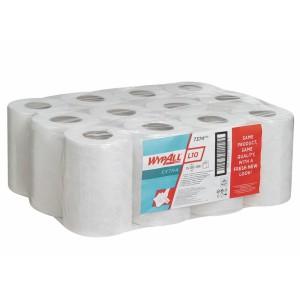 Протирочные салфетки WYPALL® L10 Extra в рулоне с центральной контролируемой подачей, 1-слойные, арт. 7374