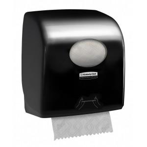 Диспенсер для рулонных полотенец Aquarius черный, арт. 7376