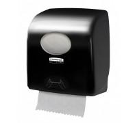 Диспенсер для рулонных полотенец Aquarius Slimroll черный, арт. 7956