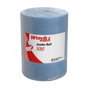 Протирочный материал в рулонах WypAll X80 голубой, арт.8347