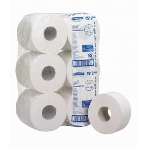 Туалетная бумага в рулонах Scott Mini Jumbo, 200 метров, арт. 8512
