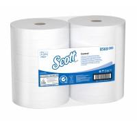 Туалетная бумага в больших рулонах с центральной вытяжкой Scott Controll 314 метров, арт.8569