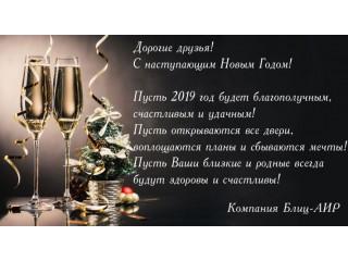 С наступающим 2019 Новым Годом!